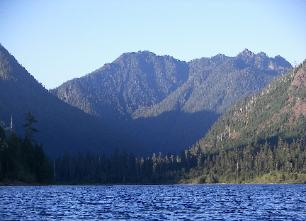 North end of Lake Wynoochee