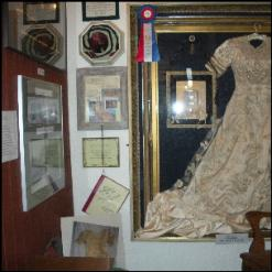 Restored wedding dress